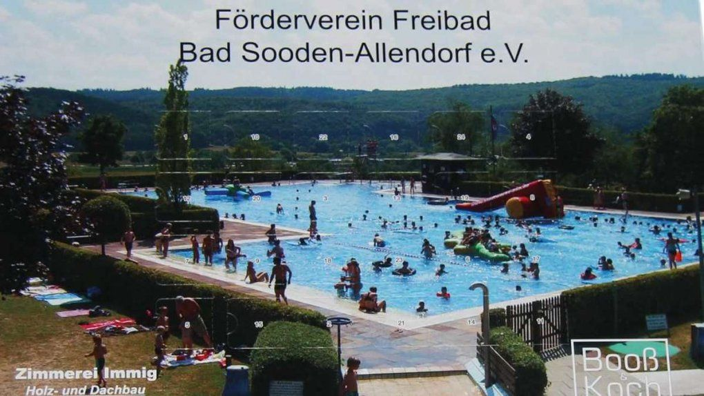 Mit Fünf Euro Ist Man Dabei  Werrameißnerkreis von Freibad Bad Sooden Allendorf Photo