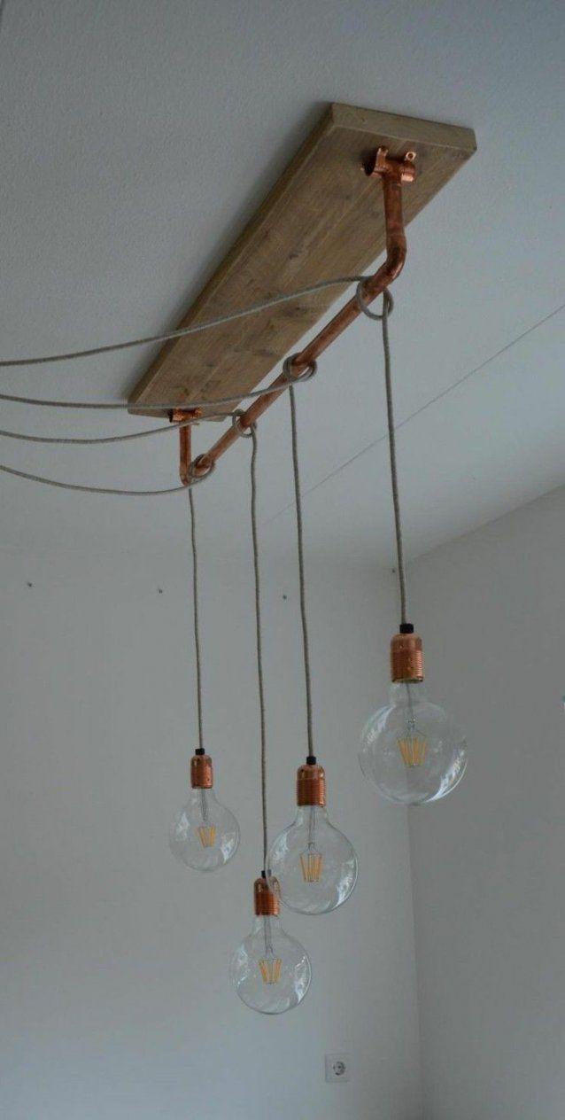 Mit Glühbirnen Am Kabel Können Sie Lampen Versetzt Anbringen von Glühbirne Lampe Selber Machen Photo
