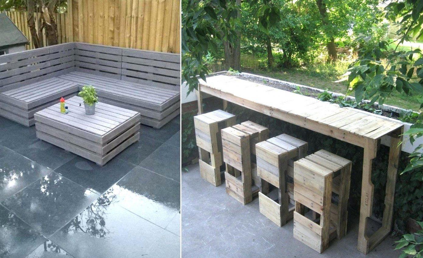 Terrasse bauen mit europaletten haus design ideen - Europaletten terrasse ...