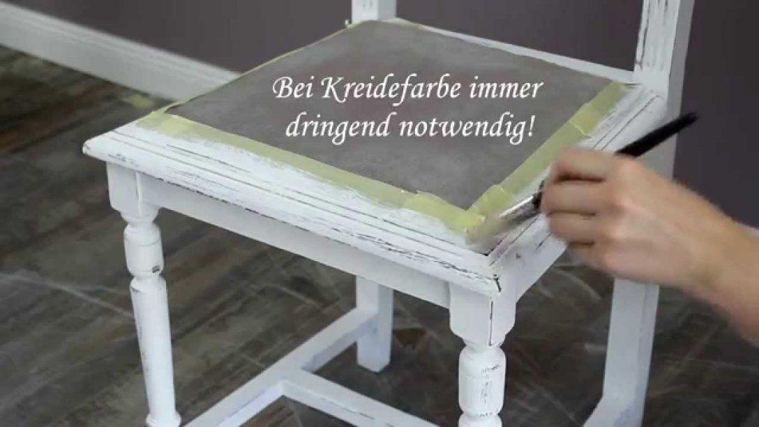 Möbel Mit Farbe In Shabby Chic Objekte Verwandeln  Youtube von Stühle Shabby Chic Selber Machen Photo