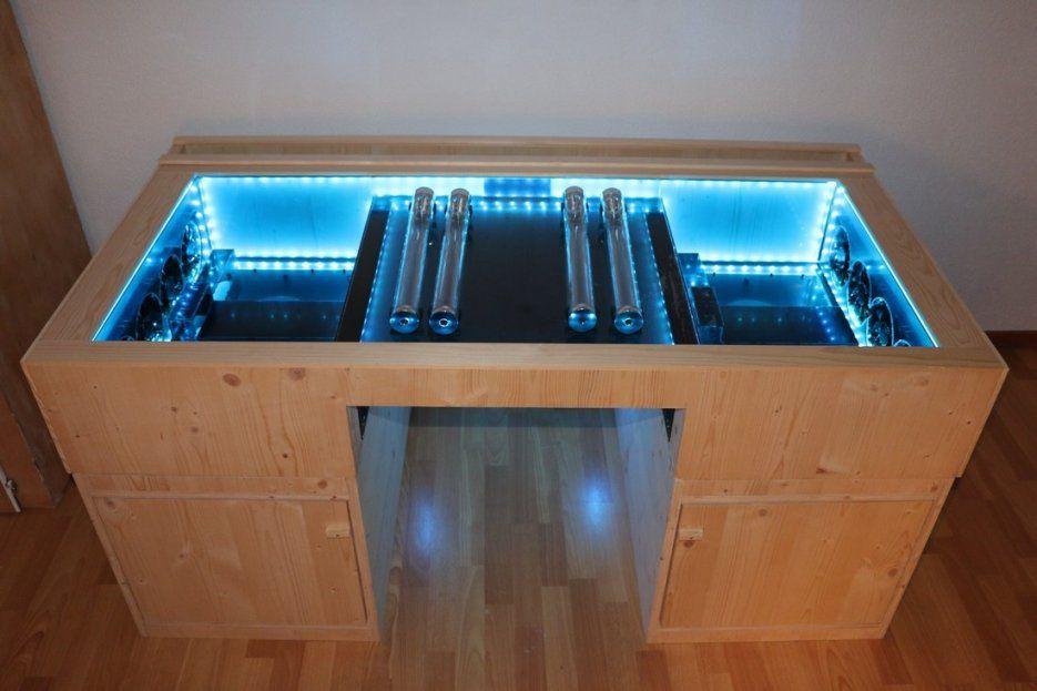 Pc im tisch selber bauen fabelhafte design ideen f r haus for Design mobel tisch