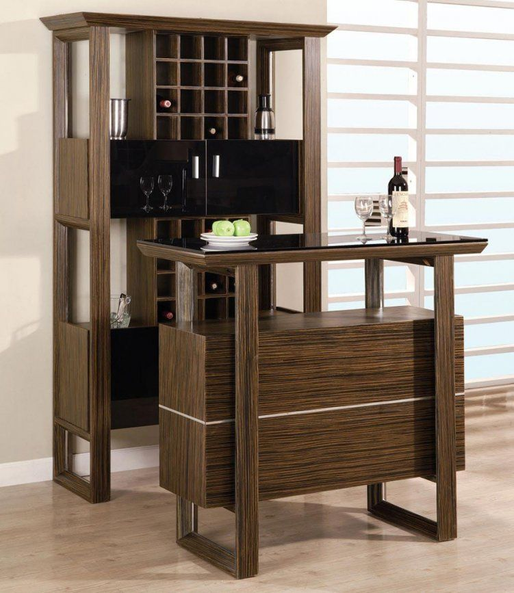 Modern Bar Furniture Home Interior Design Modern Home Mini Bar von Mini Bar With Stools Photo