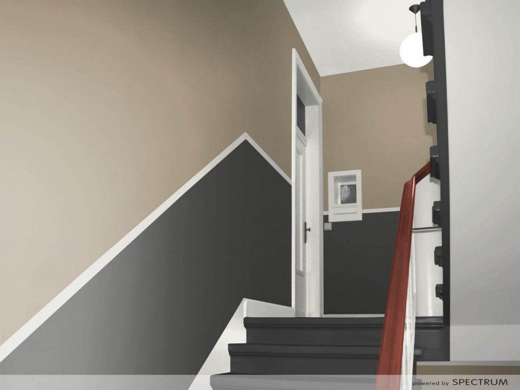 Modern Flur Ideen Farbe Mit Farben Gestalten Wohndesign Für Avec von Tapeten Für Flur Und Treppenhaus Bild