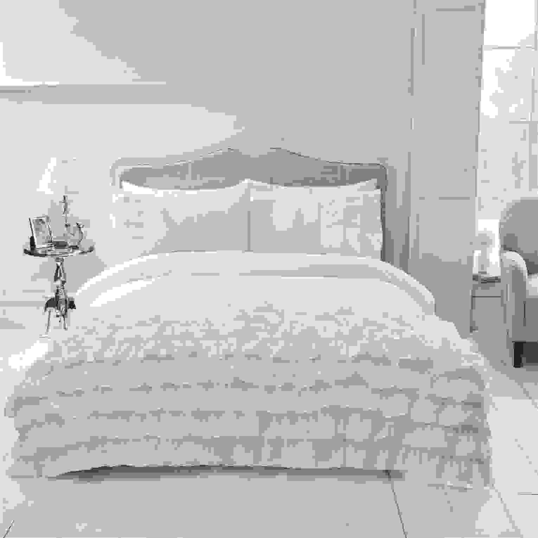 Modern Rüsche Rüschen Bettbezug Satz Bettwäsche Kissenbezug Von