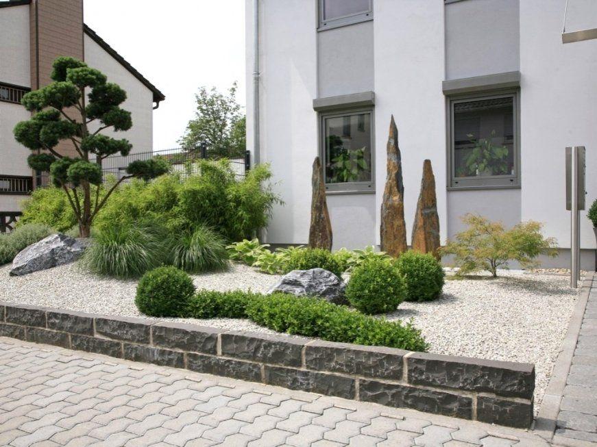 Modern Und Gartengestaltung Mit Gräsern Steinen Losgelöst Auf von Gartengestaltung Mit Steinen Und Gräsern Bild