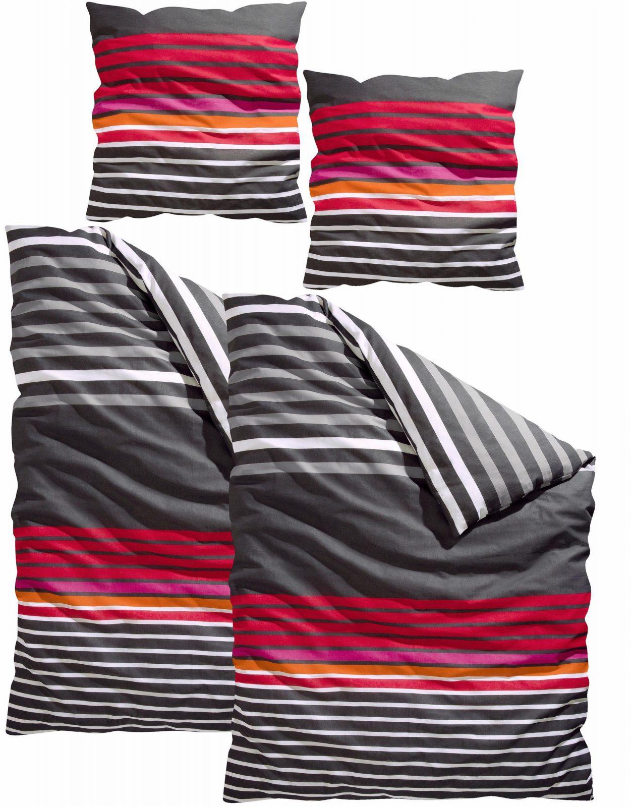 Moderne Bettwäsche Auf Rechnung  Baur von Baur Bettwäsche 155X220 Bild