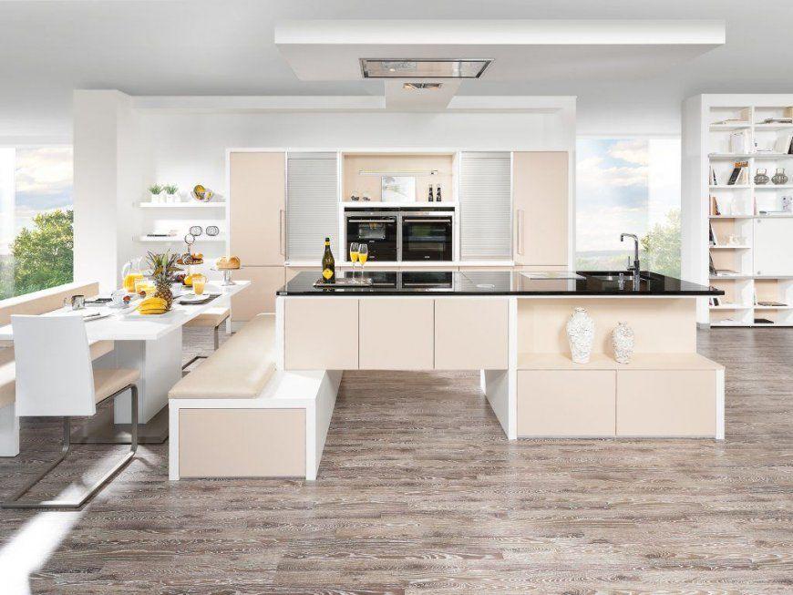 Moderne Deko Idee Schön Küche Mit Integriertem Essplatz Kuche von Küche Mit Integriertem Tisch Bild