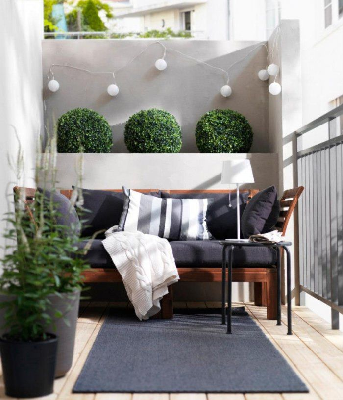 Moderne Design Ideen Für Kleine Balkonen  Terrasse Und Balkon von Balkon Ideen Kleiner Balkon Photo