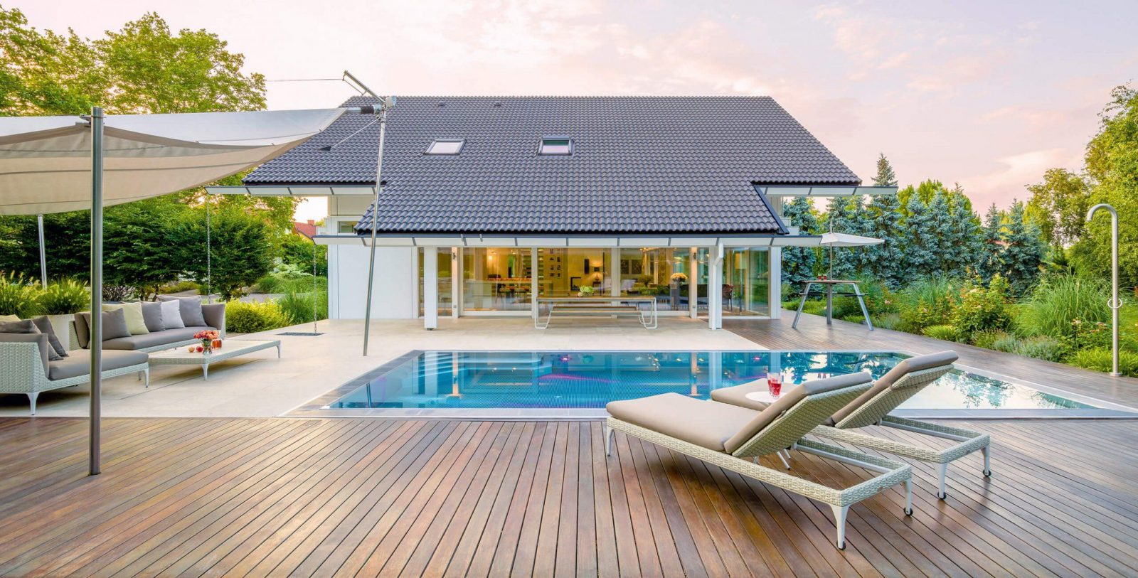 Moderne Fachwerkhäuser Aus Holz Und Glas  Das Original von Wie Plane Ich Ein Haus Bild