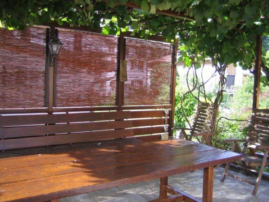 Moderne Garten Günstig  Sichtschutz Garten Idee Günstig Selber von Sichtschutz Garten Günstig Selber Bauen Bild