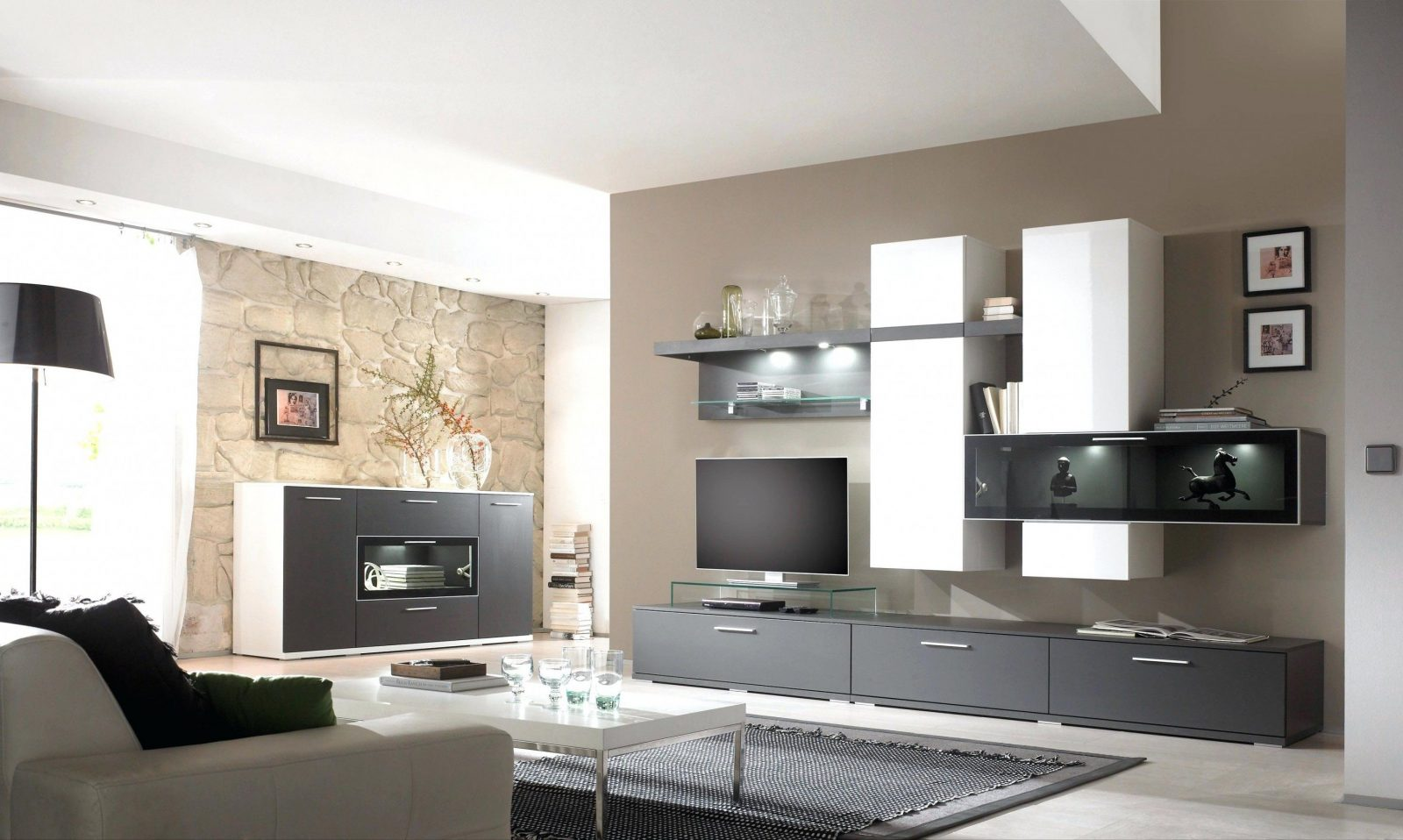 Moderne Heizkorper Gardinen Fur Wohnzimmer Modern Zeitgenssisch A von Bilder Fürs Wohnzimmer Modern Photo