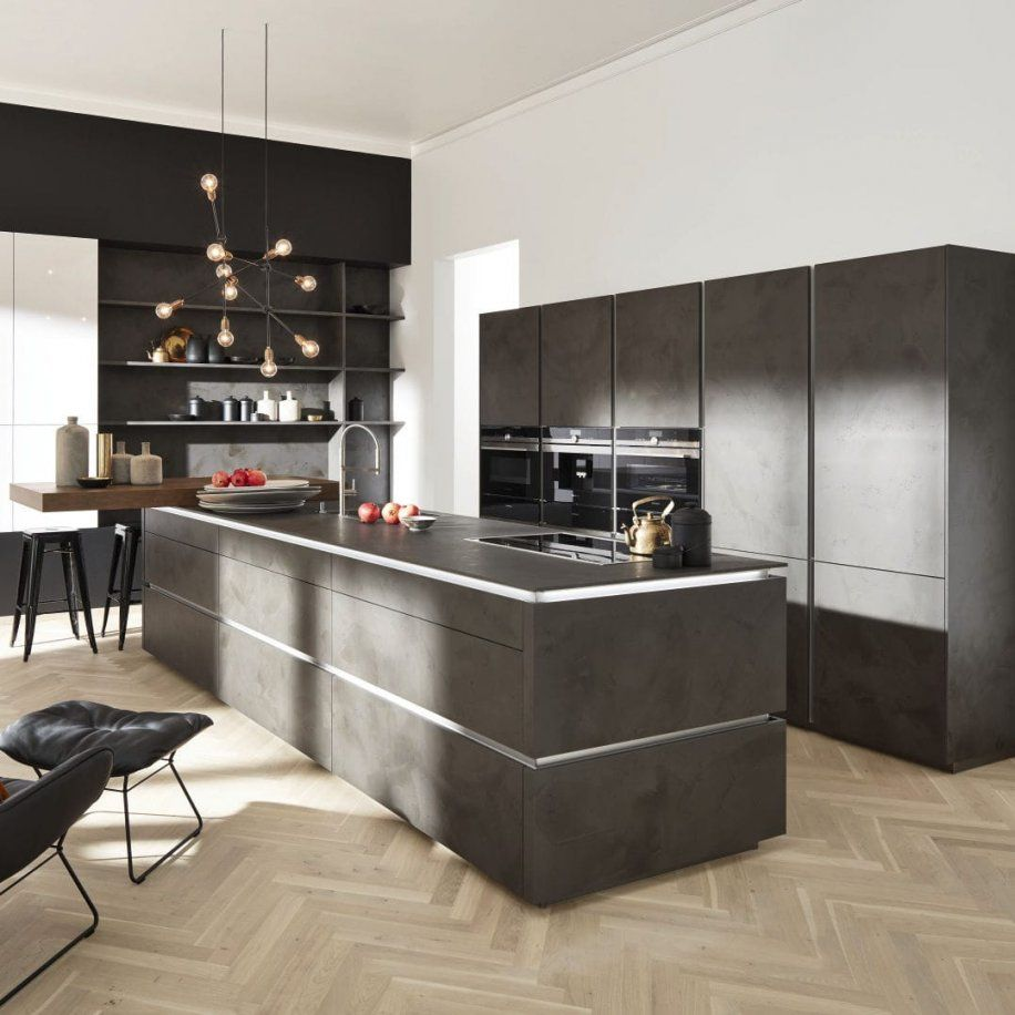 Moderne Küche Laminat Kochinsel Ohne Griff Portlandcorona