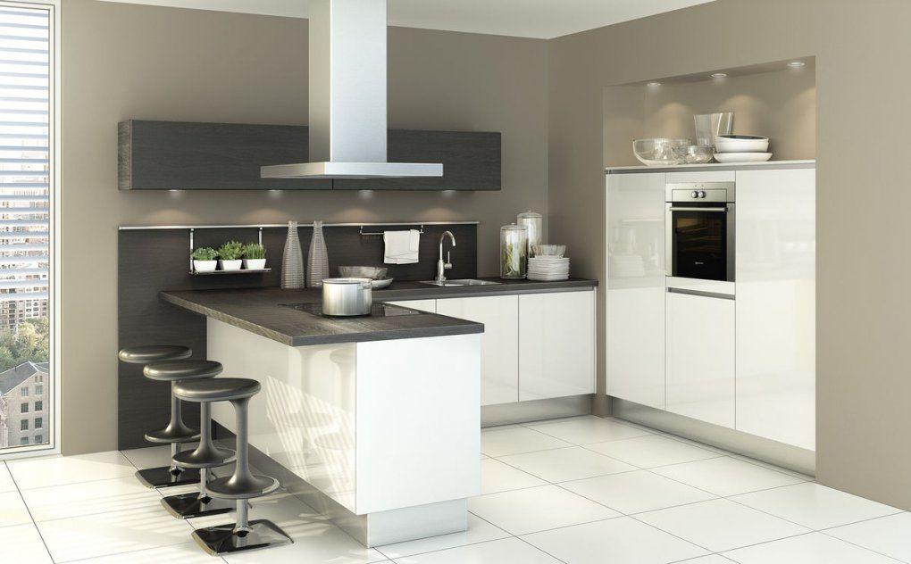 Küche Kleiner Raum Modern Cool Innenarchitektur Moderne Kuchenzeile ...