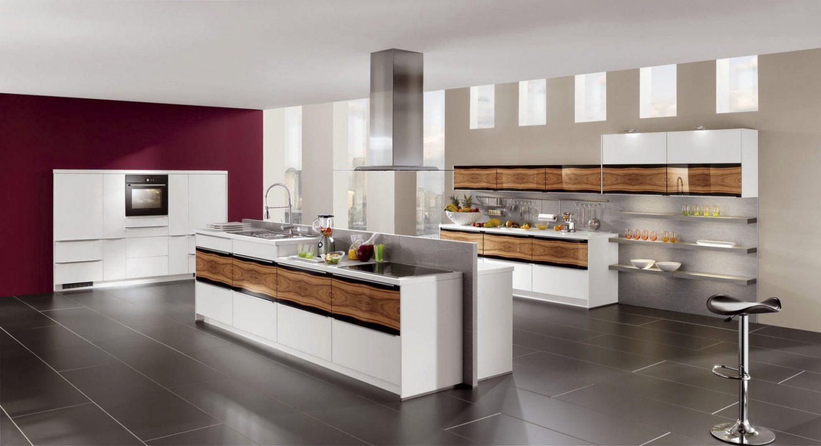 Moderne Küchen Mit Kochinsel Unglaublich On Modern Auf Küche Holz von Küche Mit Kochinsel Gebraucht Photo