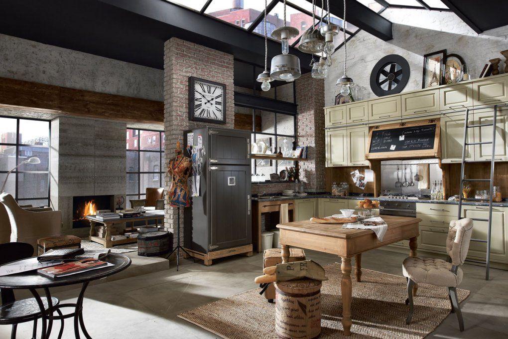 Moderne Landhausküchen Stil Beweisen – Edle Küchen von Küchen Im Vintage Stil Bild
