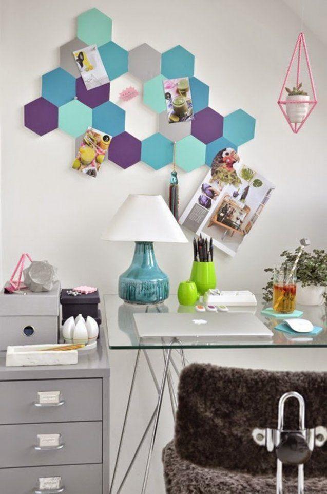 Moderne Pinnwand Selber Machen  9 Diy Ideen Aus Kork von Moderne Bilder Selber Machen Bild