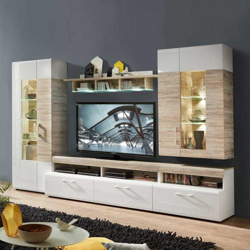 Moderne Wohnwände Günstig Kaufen  Pharao24™ von Wohnwand Sonoma Eiche Günstig Bild
