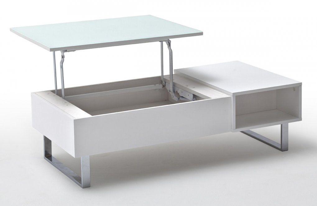 Moderner Couchtisch Mit Höhenverstellbarer Platte In Weiß Hd von Couchtisch Mit Höhenverstellbarer Platte Photo
