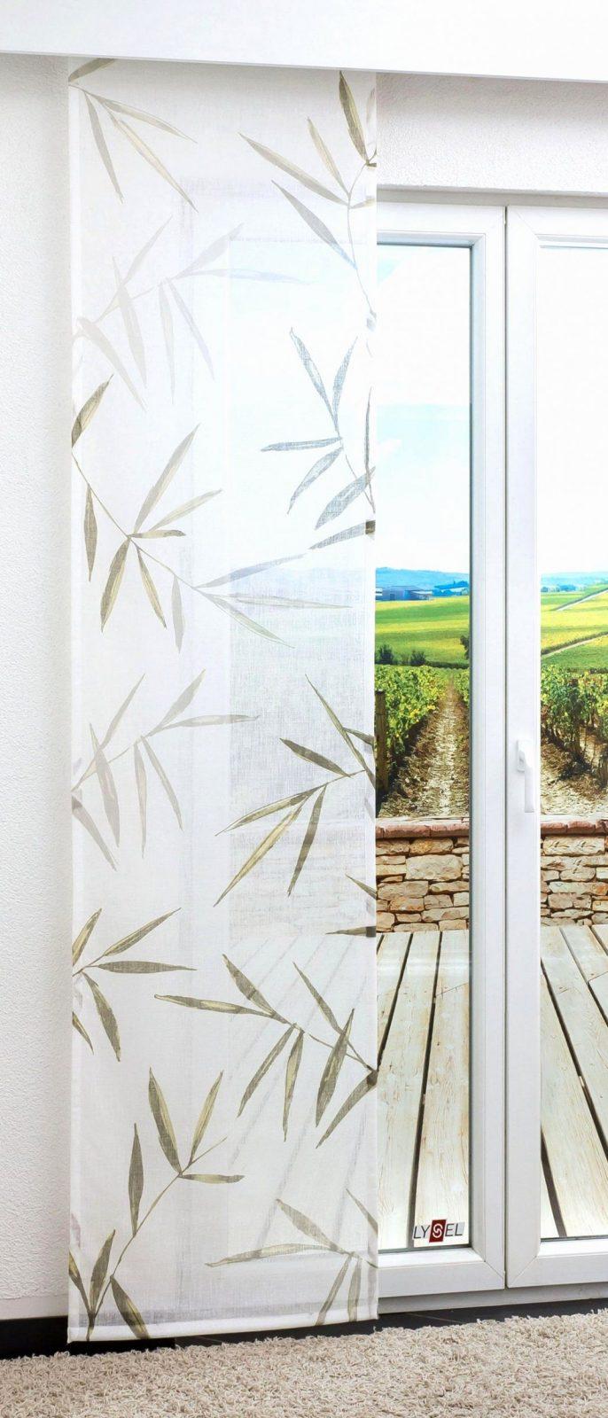Moderner Flächenvorhang Schiebegardine Aus Hochwertigem Ausbrenner von Flächenvorhang 30 Cm Breit Photo