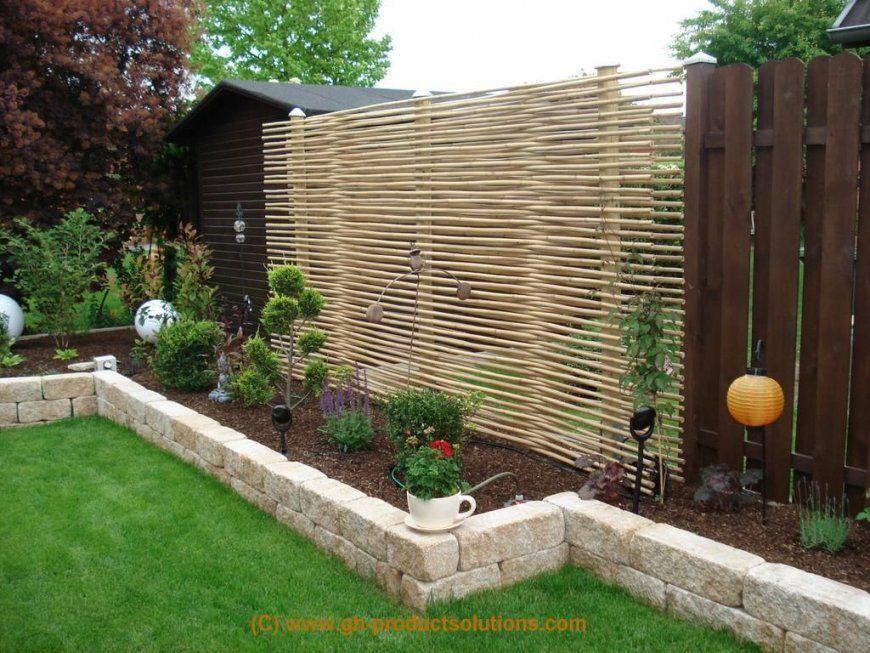 Moderner Sichtschutz Für Den Garten  Gartenideen  Pinterest von Origineller Sichtschutz Selber Machen Bild