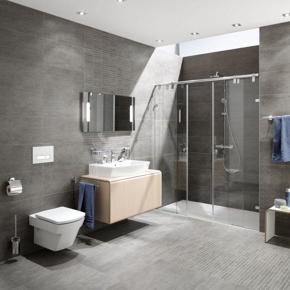 Modernes Bad Fliesen Interessant Bad Design Ohne Fliesen  Wohndesign von Modernes Badezimmer Ohne Fliesen Bild