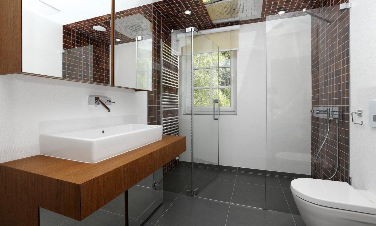 Modernes Badezimmer Ohne Fliesen Schon Haus Design Ideen Von