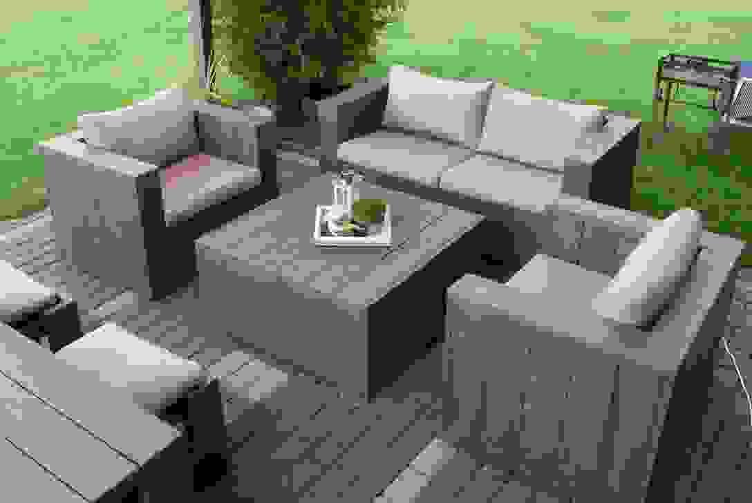 Modernes Gartenmbel Aus Paletten Selber Bauen Anleitung Im Von von Balkonmöbel Selber Bauen Ideen Bild