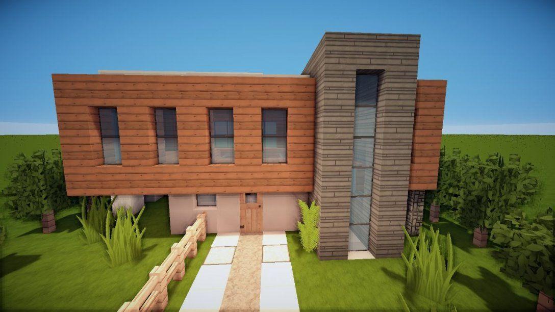 Modernes Minecraft Haus Bauen Tutorial [German]  Youtube von Minecraft Schönes Haus Bauen Bild