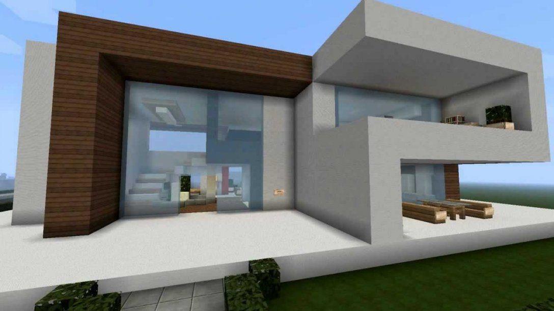 Modernes Minecraft Haus  My Best Modern House  Youtube von Minecraft Villa Modern Bauplan Bild