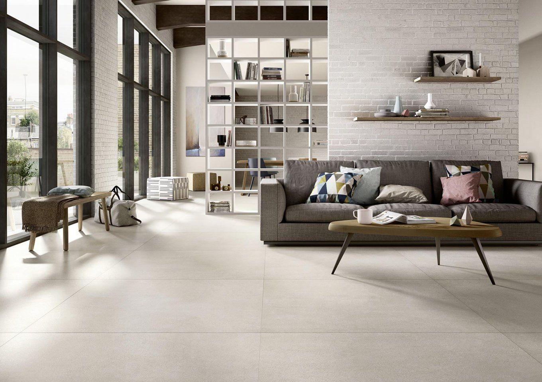 Modernes Wohnzimmer Fliesen Holzoptik Grau Bilder Oder