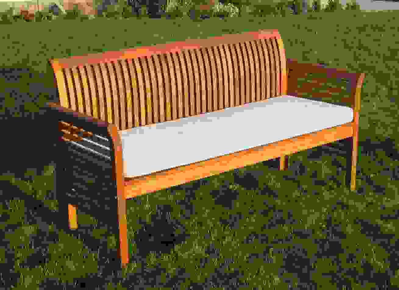 Moebel Partner 4 Sitzer Gartenbank Aus Eukalyptus Holz Fsc Ist Tolle von Gartenbank Holz 4 Sitzer Bild