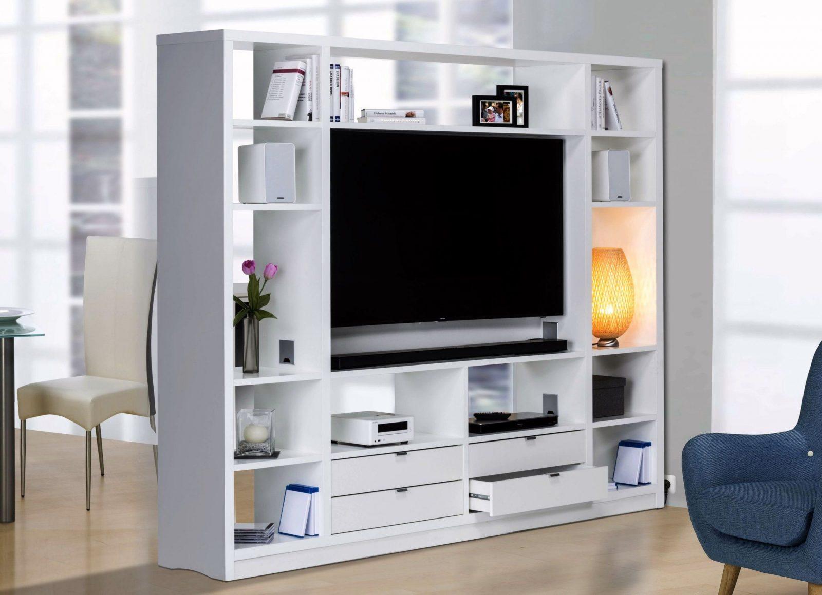 Momati24  Raumteiler 6020  Trendmöbel Aus Der Fabrik von Raumteiler Mit Tv Fach Bild