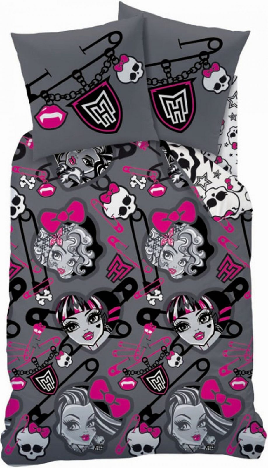 Monster High Twin Bettwaesche Set  Dibinekadar Decoration von Monster High Bettwäsche Bild