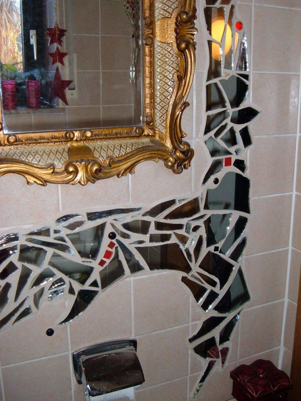 Mosaik  Bastelbetrieb von Spiegel Mosaik Selber Machen Photo