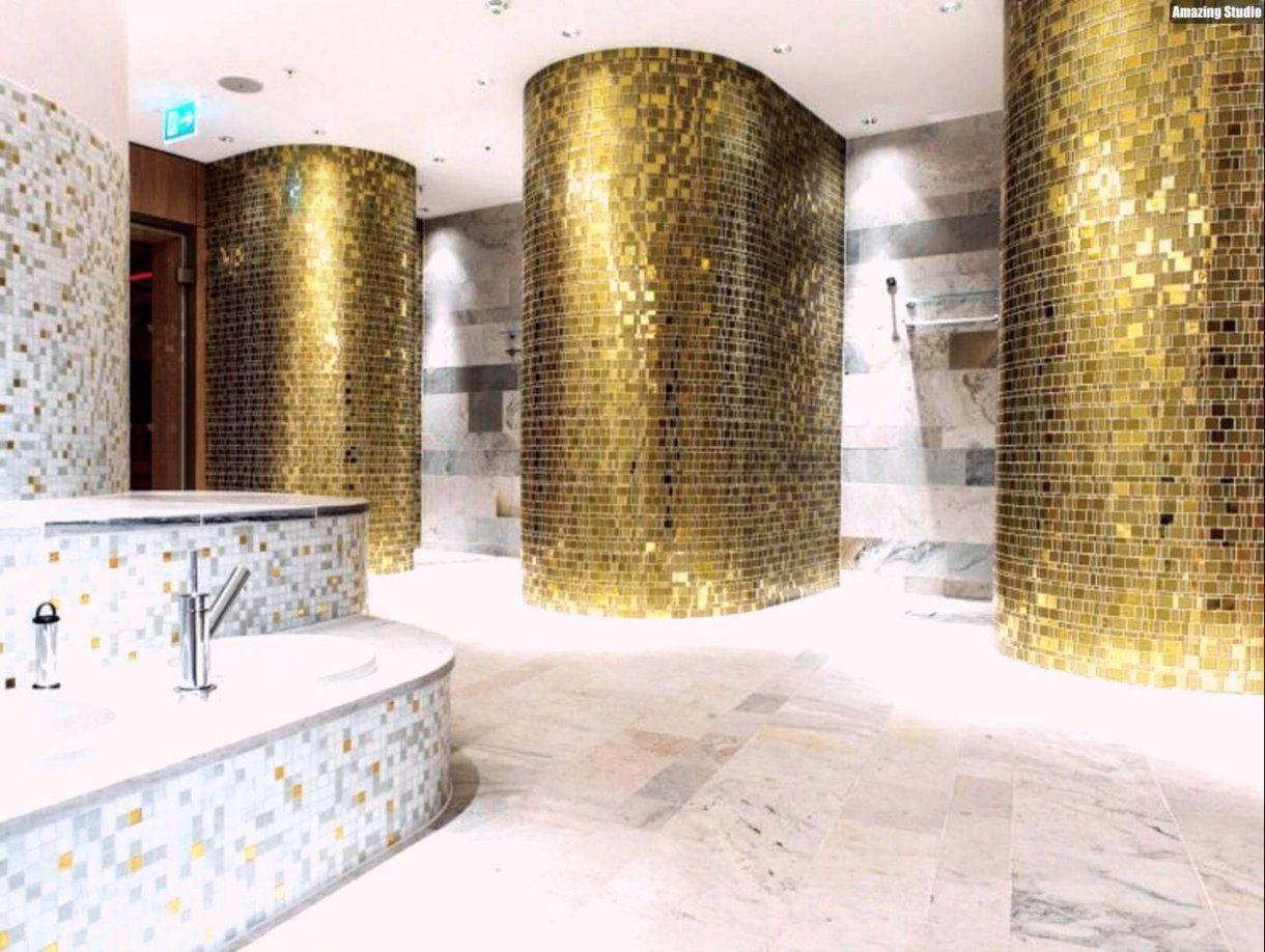 Mosaik Fliesen Badezimmer Atemberaubend Gold Mosaik Fliesen Bad Von Mosaik  Fliesen Schwarz Weiß Grau Photo