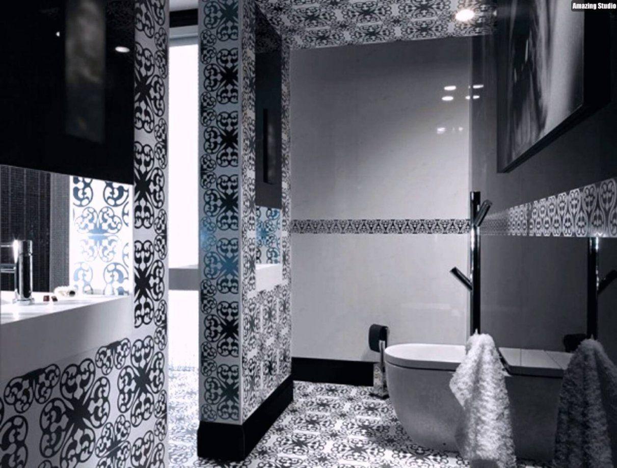 Mosaik Fliesen Badezimmer Weiß Schwarz Abstrakte Muster  Youtube von Mosaik Fliesen Zum Aufkleben Bild