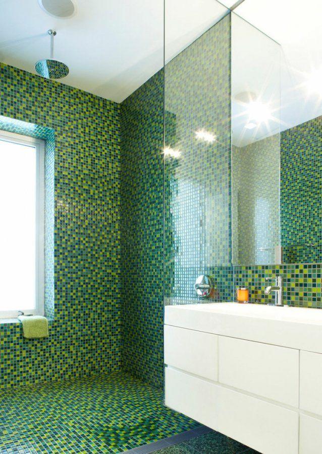 Mosaik Fliesen Für Bad Ideen Für Betonung Einzelner Bereiche von Mosaik Fliesen Für Dusche Bild