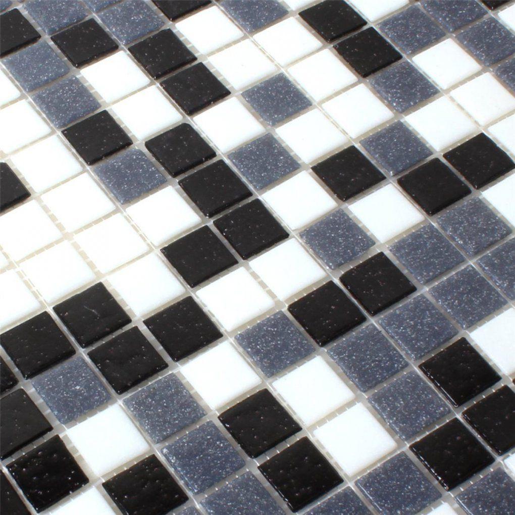 Mosaik Fliesen Schwarz Weiß Grau von Mosaik Fliesen Schwarz Weiß Grau Bild