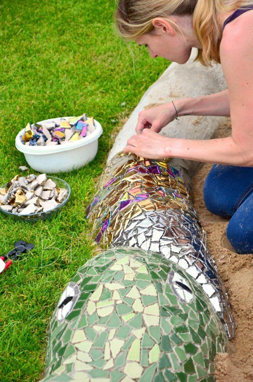 Mosaik Sandkasten …  Pinteres… von Mosaik Im Garten Selber Machen Photo