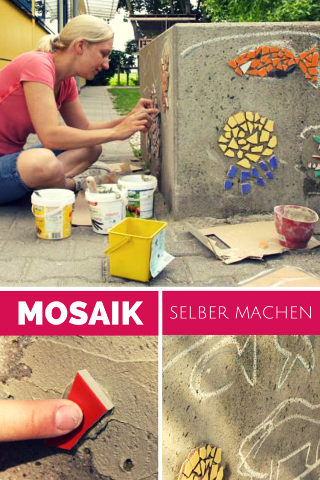 Mosaik Selber Machen  Mosaik Selber Machen Mosaik Und Selber Machen von Mosaik Im Garten Selber Machen Bild