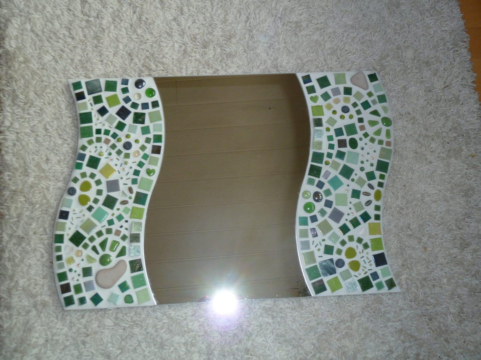 Mosaik Spiegel Selber Machen  Ehausdesign von Spiegel Mosaik Selber Machen Bild