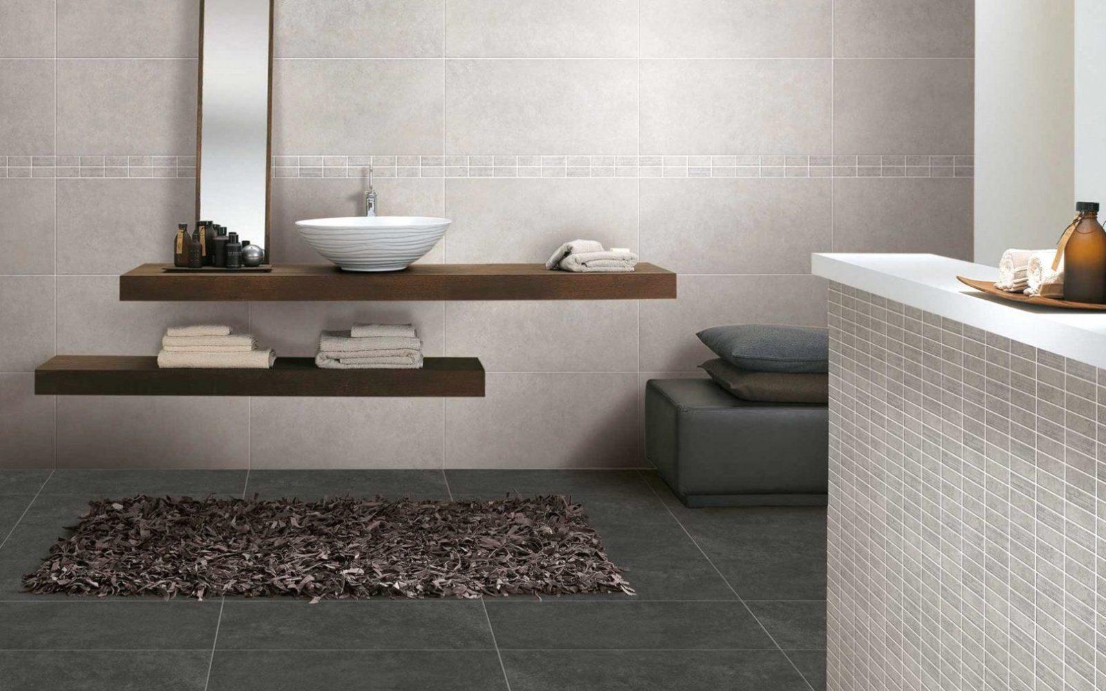 Mosaikfliesen Bad Grau Mit Badezimmer Weiß 4 Und von Mosaik Fliesen Bad Grau Bild