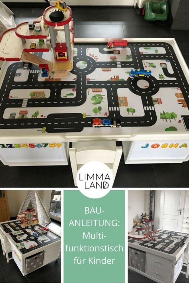 Multifunktionstisch Selber Bauen Für Kinder  Ikea Kallax Regal von Ikea Regal Kallax Aufbauanleitung Bild