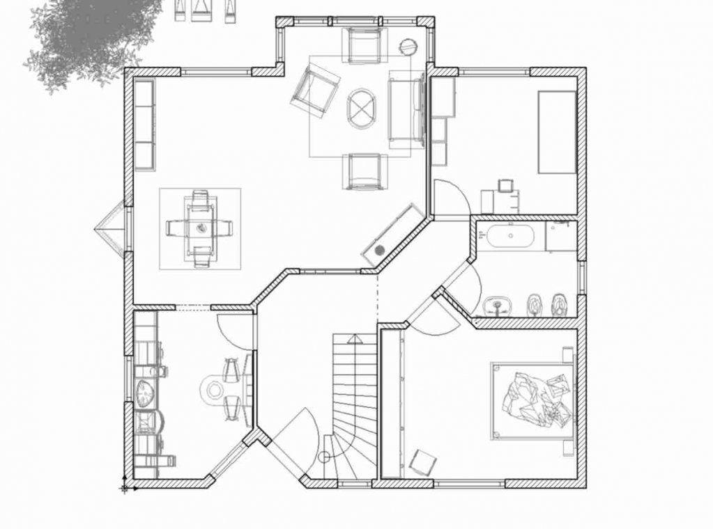 Musterhaus Grundriss von Einfamilienhaus Am Hang Grundrisse Bild