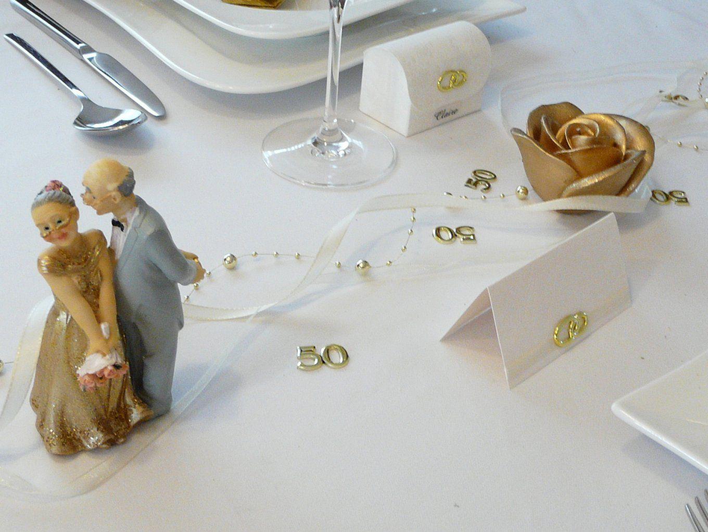 Mustertische Zur Goldenen Hochzeit Bei Tischdekoonline von Tischdeko Für Goldene Hochzeit Photo