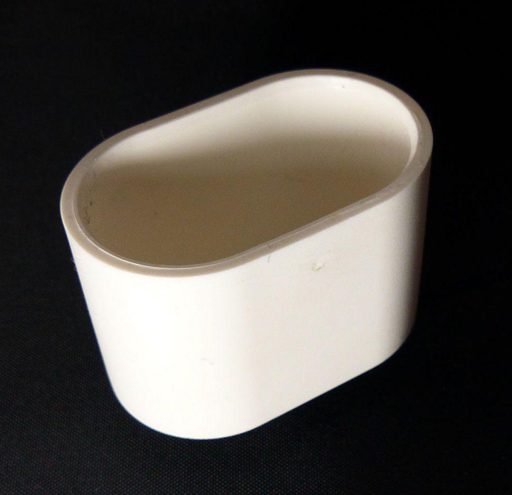 Mwh Fusskappe 35X20 Mm Oval Für Chalet Sessel  Gartenmöbel Jendrass von Fußkappen Für Gartenstühle Oval Bild
