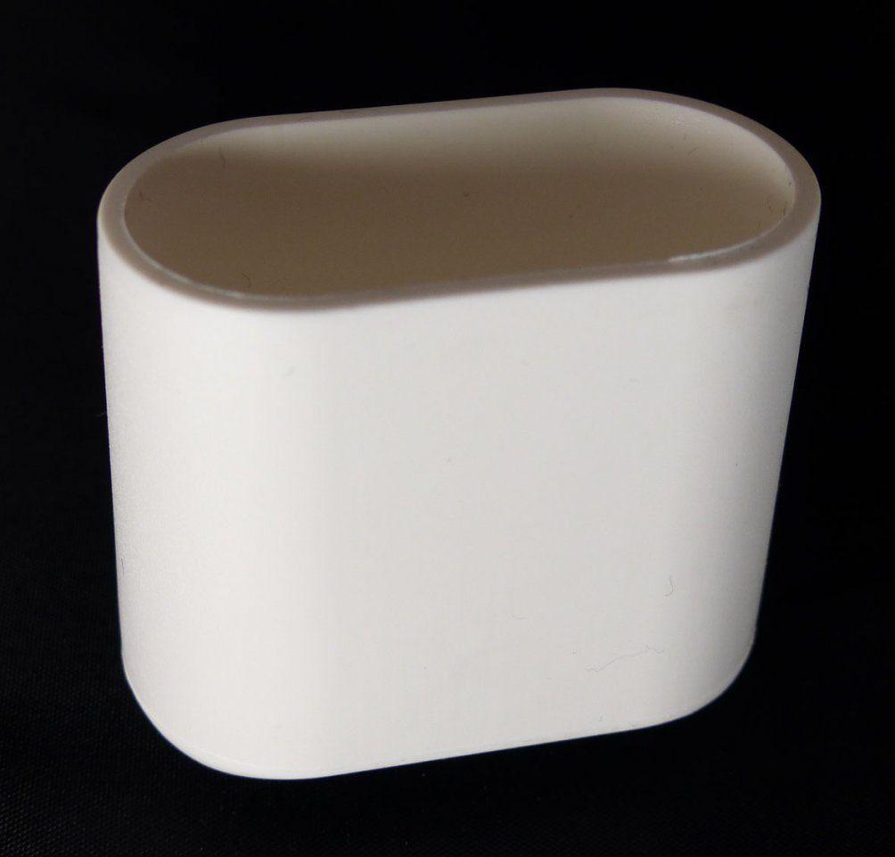 Mwh Fusskappe 40X20 Mm Oval In Weiss Oder Schwarz  Gartenmöbel Jendrass von Fußkappen Für Gartenstühle Oval Photo