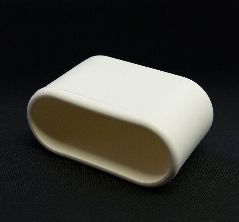 Mwh Fusskappe 50X20Mm Für Chalet Sessel  Gartenmöbel Jendrass von Fußkappen Für Gartenstühle Oval Bild