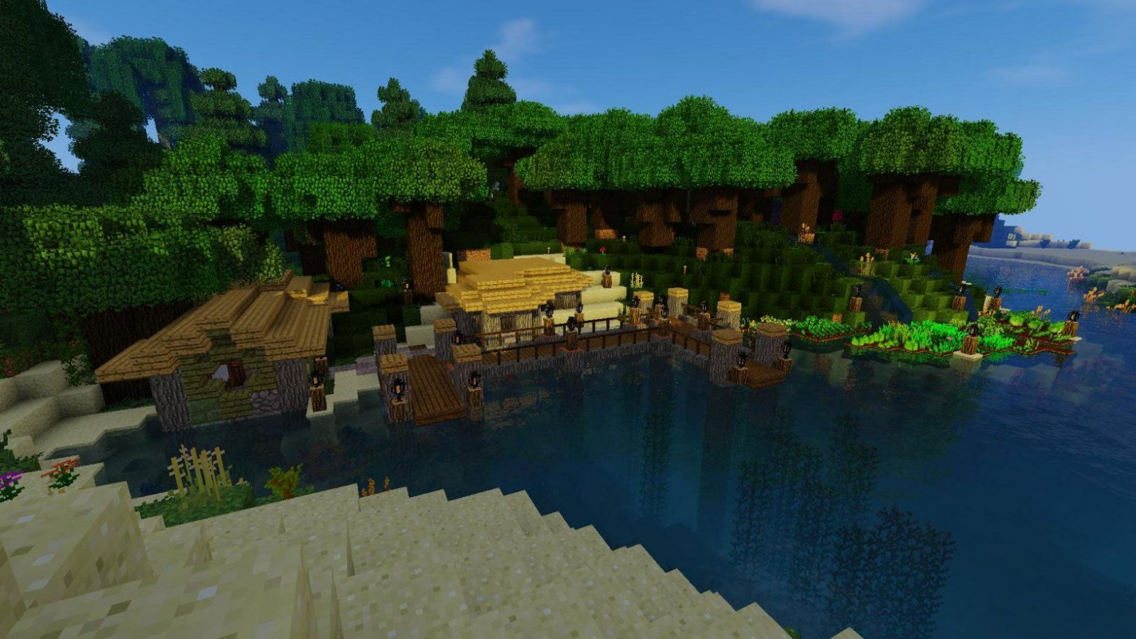 My Life In The Woods Home (Wip)  Survival Mode  Minecraft Java von Life In The Woods Minecraft Photo
