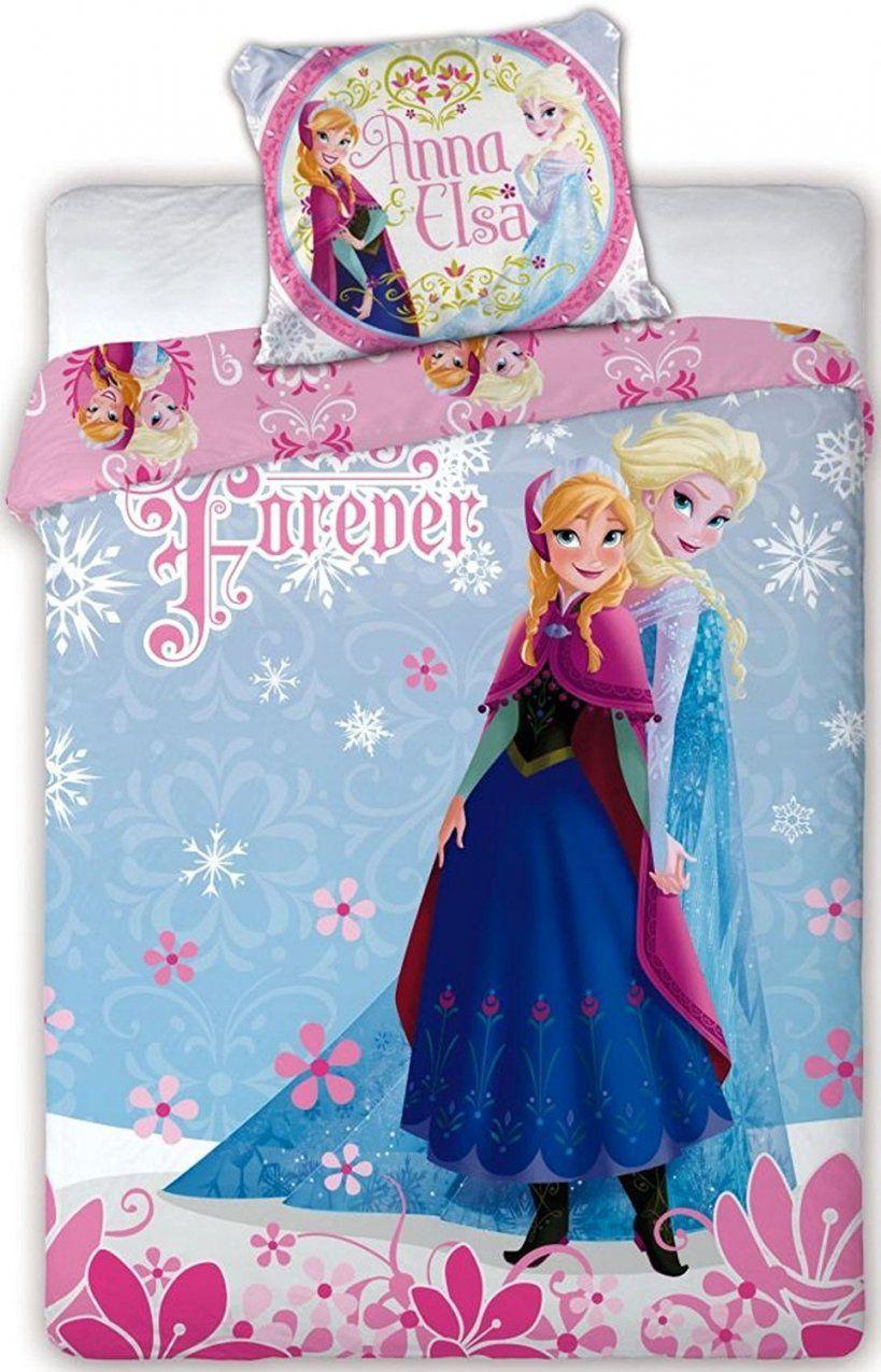 Mytoyscenter  Disney Frozen Die Eiskönigin Baby Bettwäsche von Kinderbettwäsche Eiskönigin 100X135 Bild